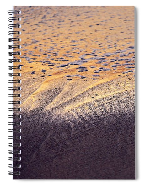 Sunset In The Sand Spiral Notebook