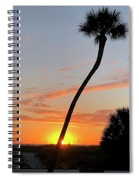 Sunset In Venice Spiral Notebook