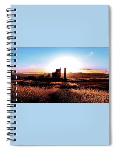 Sunset. Magpie Mine. Spiral Notebook