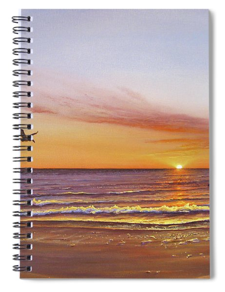 Sunset On The Gulf Spiral Notebook
