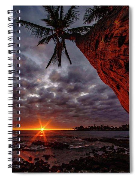 Sunset Palm Spiral Notebook