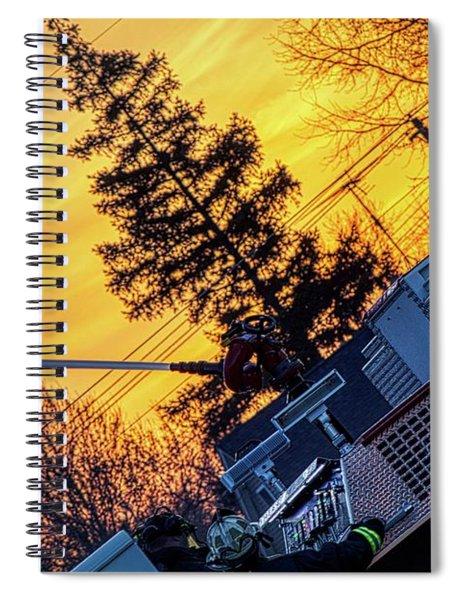 Sunset Streams Spiral Notebook