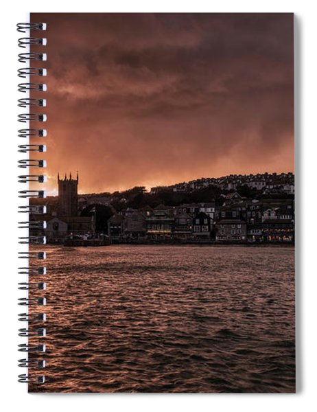 Sunset Harbour Spiral Notebook