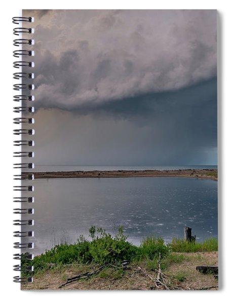 Sunshine And Lightning  Spiral Notebook