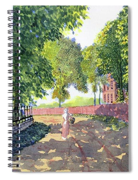 Sunshine And Shadows Spiral Notebook