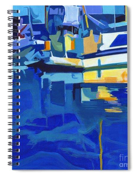 Sunshine Blues Spiral Notebook