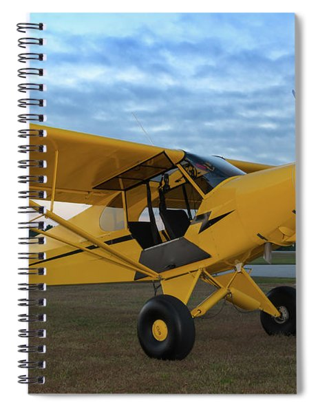 Super Cub At Daybreak Spiral Notebook
