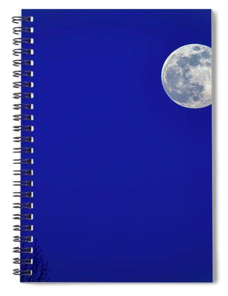 Super Moon Rise Spiral Notebook
