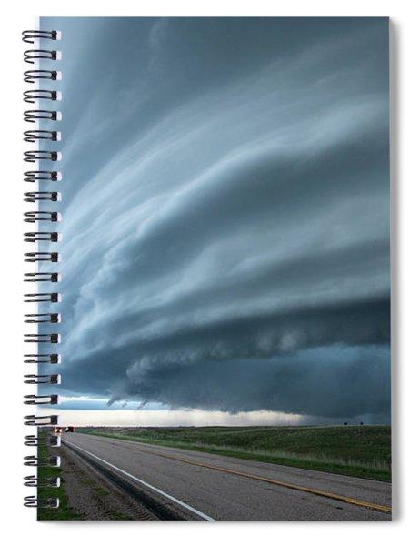 Super Storm Spiral Notebook