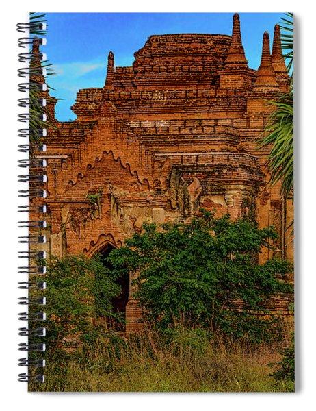Super Stupa Spiral Notebook