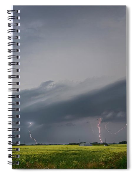 Supercell Time Spiral Notebook