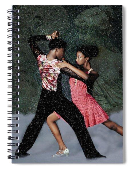 Supernal Salsa Spiral Notebook