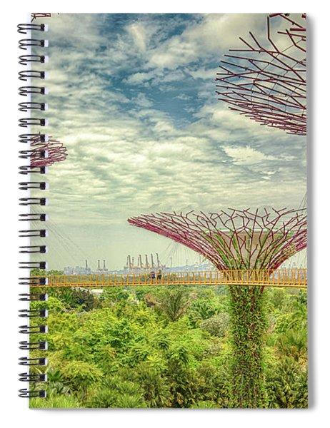 Supertree Grove Spiral Notebook