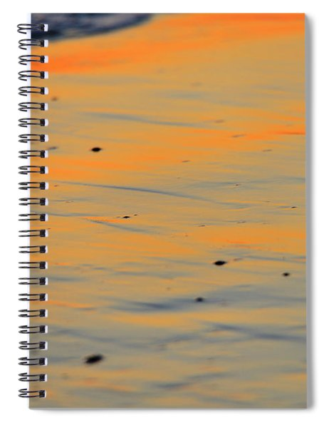 Surf And Sand Afterglow Spiral Notebook