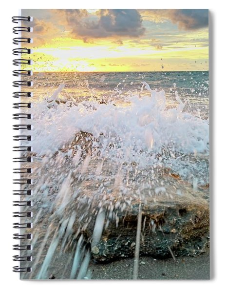 Surf Splash Spiral Notebook