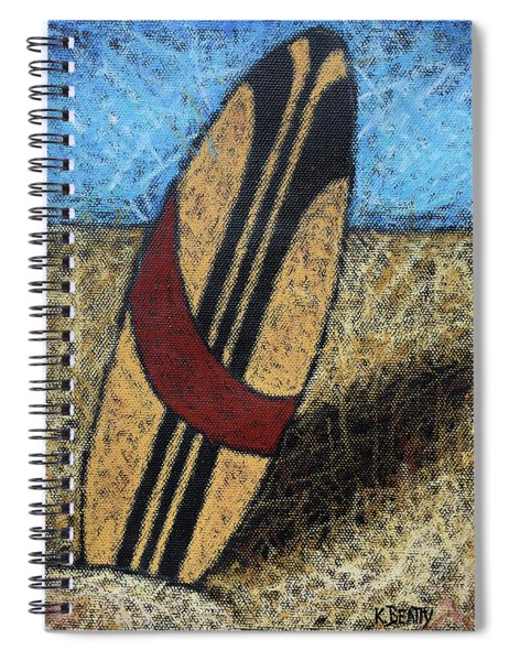 Surfboard's Ready Spiral Notebook
