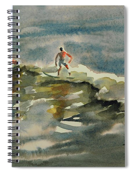 Surfer Boys 2 Spiral Notebook