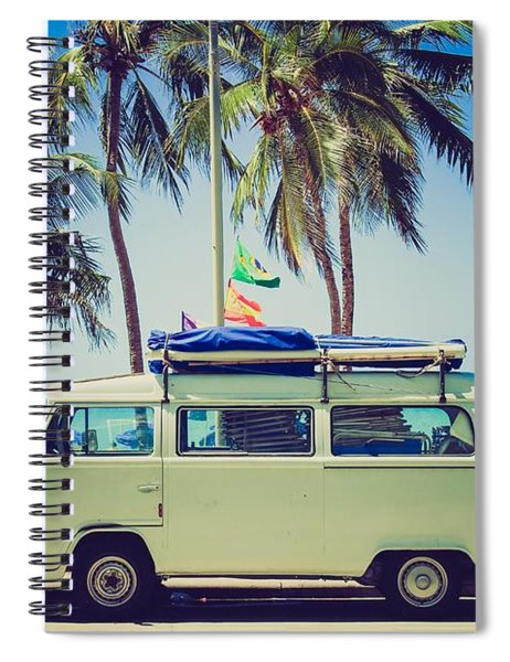 Surfer Van Spiral Notebook