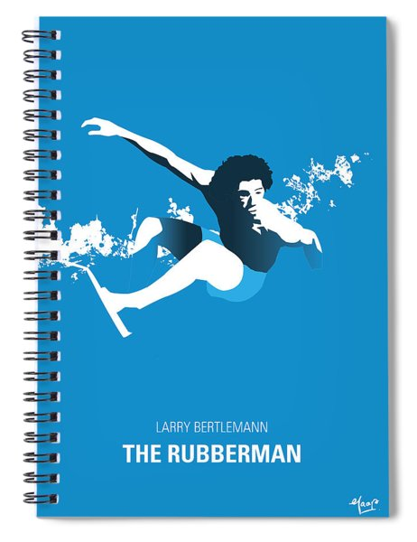 Surfing Legend - Larry Bertlemann  Spiral Notebook
