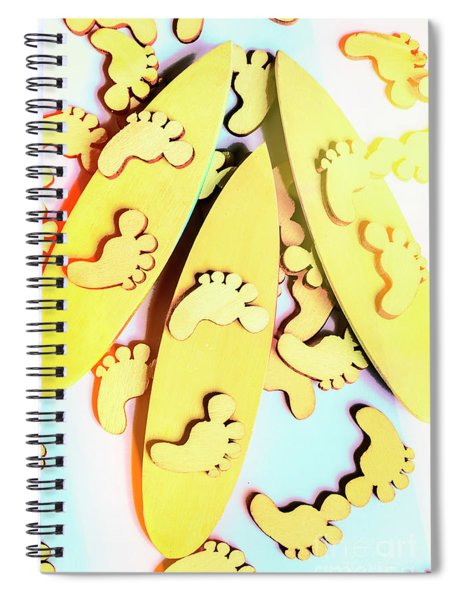 Surfing Pop Spiral Notebook