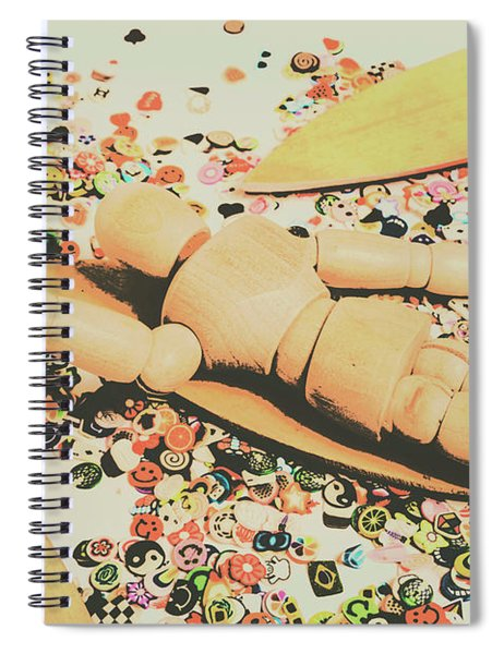 Surfing Table Cape Spiral Notebook