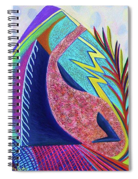Surmounting  Spiral Notebook