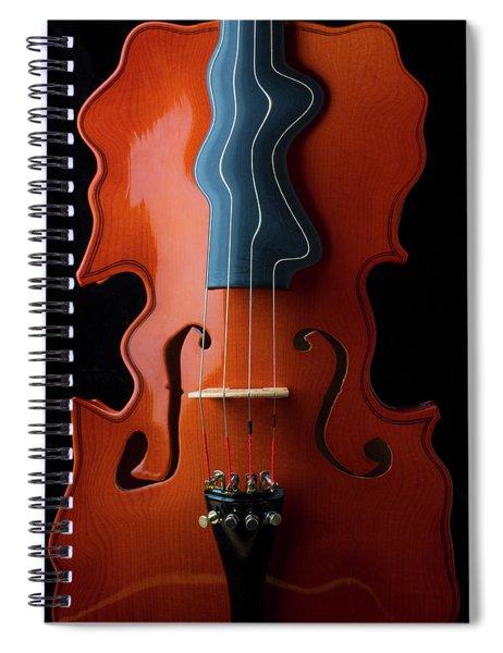 Surrealistic Violin Spiral Notebook