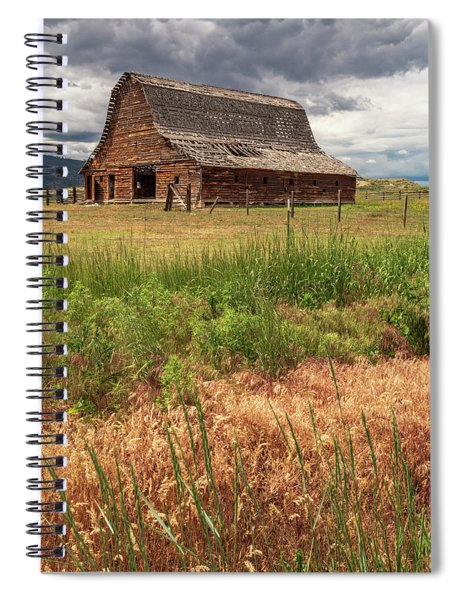 Surrendered To The Elements Spiral Notebook