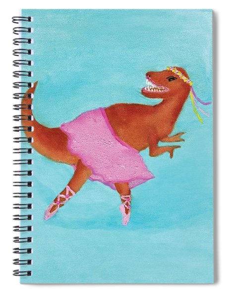Swan Rex Spiral Notebook