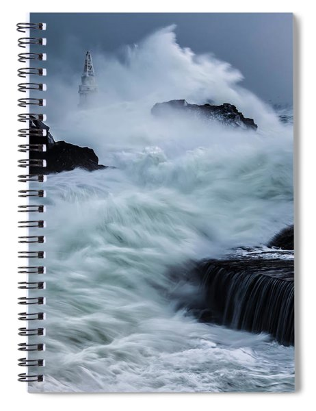 Swallowed By The Sea Spiral Notebook