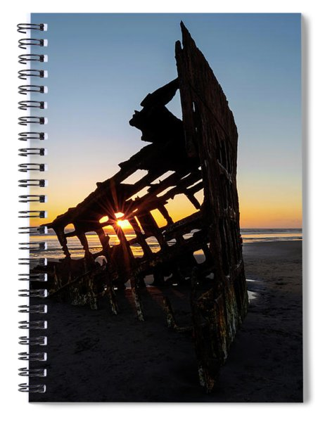 Swallowed By Time Spiral Notebook