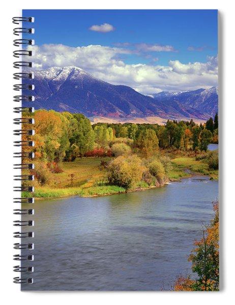 Swan Valley Autumn Spiral Notebook