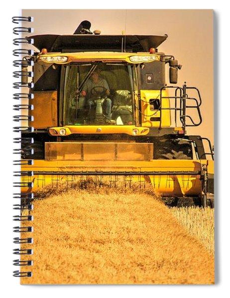 Swathing  Spiral Notebook