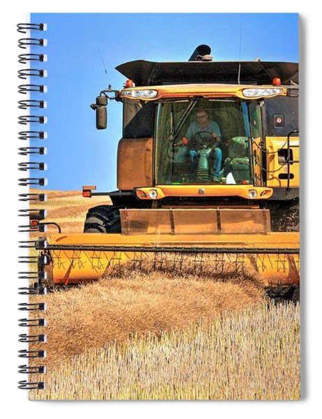Swathing In A Holland Spiral Notebook