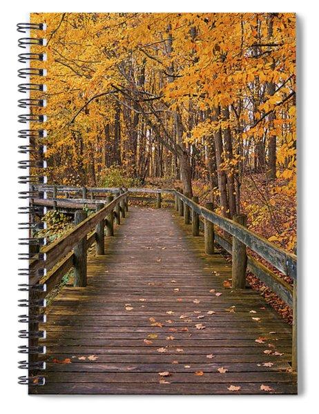 Sweet Autumn Memories Spiral Notebook