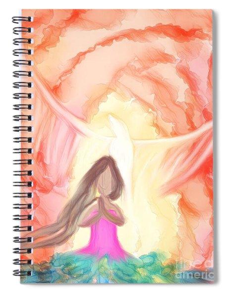 Sweet Hour Of Prayer Spiral Notebook