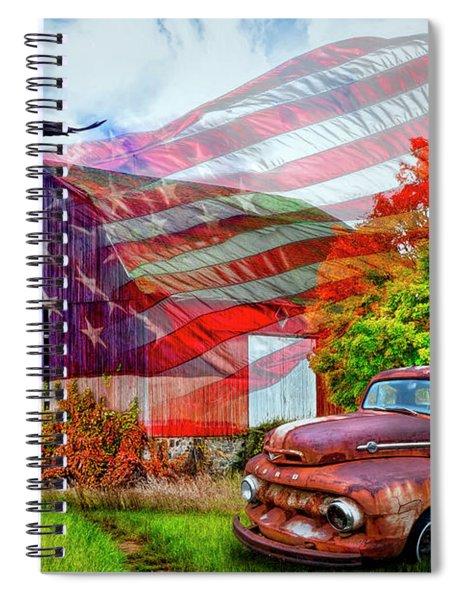 Sweet Land Of Liberty Spiral Notebook