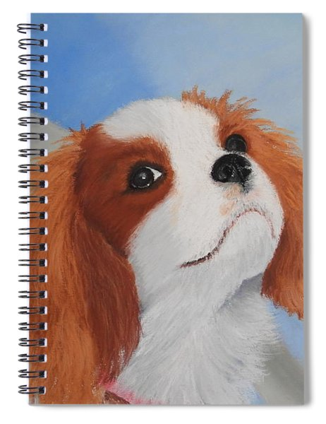 Sweet Lily Spiral Notebook