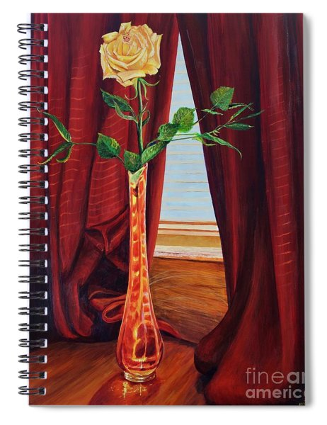 Sweetheart Day's Rose Spiral Notebook