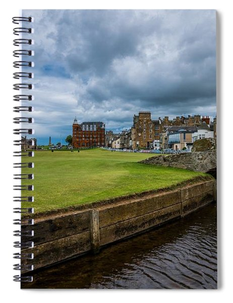 Swilcan Burn - The Old Course  Spiral Notebook
