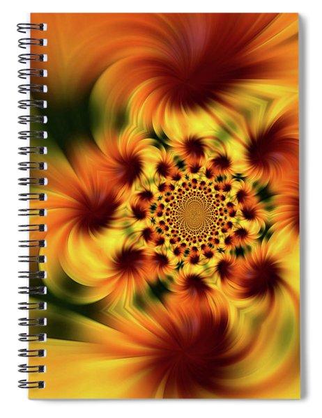 Swirling Imagination Spiral Notebook
