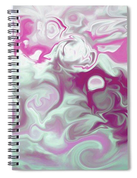 Swirly Skies Spiral Notebook