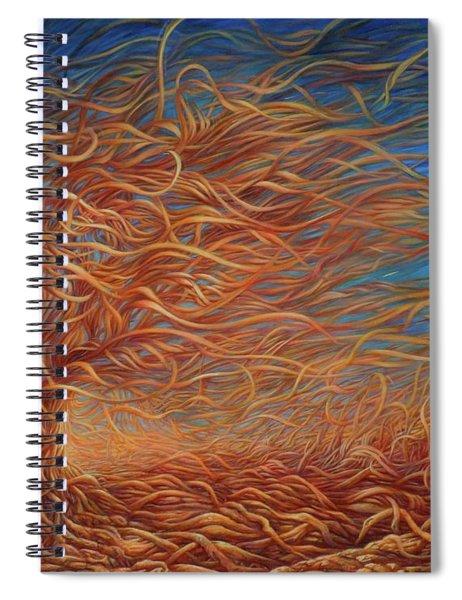 Swirly Tree 2 Spiral Notebook