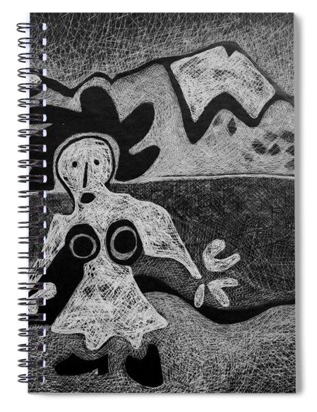 Swiss Miss Spiral Notebook