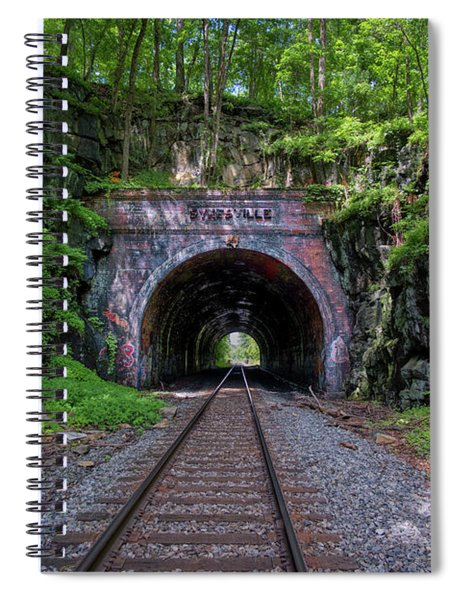 Sykesville Rail Tunnel Spiral Notebook