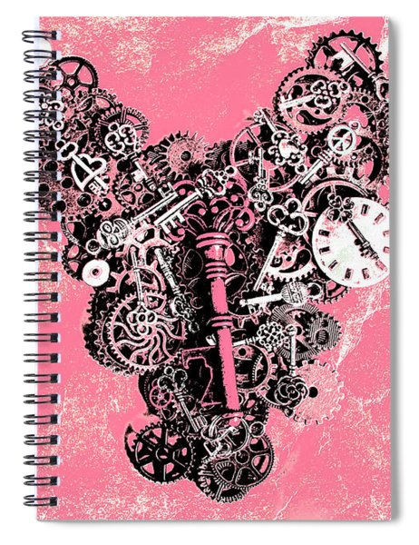 Symbiotic Sentiment Spiral Notebook