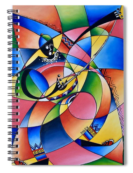 Symmetry Spiral Notebook
