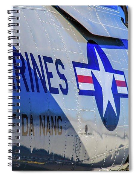 Spiral Notebook featuring the photograph T-28b Trojan by Doug Camara