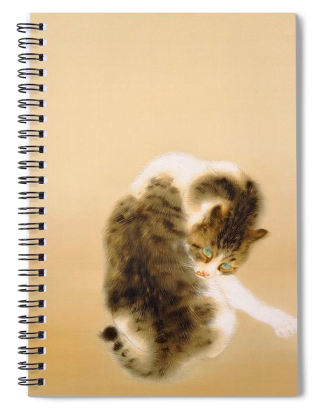 Tabby Cat - Digital Remastered Edition Spiral Notebook