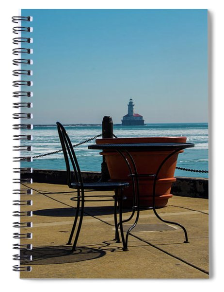 Table For One Spiral Notebook
